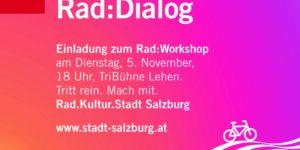 Rad:Dialog Salzburg: What gets you on your bike?