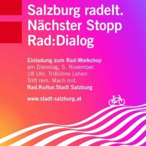 Rad:Dialog Salzburg: What gets you on your bike?