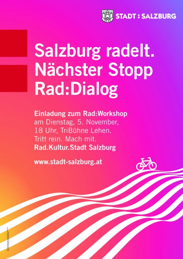 Rad:Dialog Salzburg: Was bringt Sie aufs Rad?